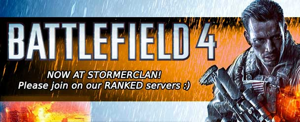 We have new ranked BF4 servers, come chat about BF4 anp play with us with SC here!