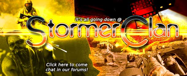 StormerClan, its where it all happens! Come have a chat in our community forum